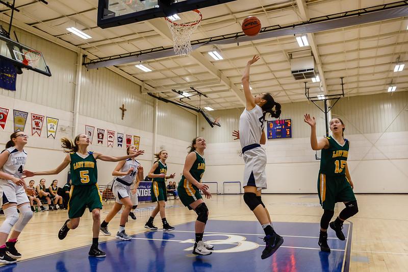 CC Grade 8 Girls  Basketball vs Benton Central