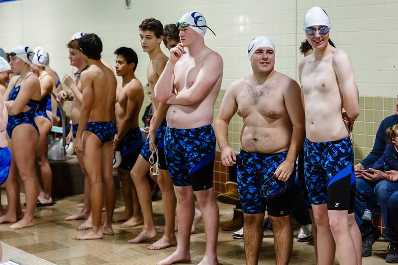 CC Swimming vs Carroll