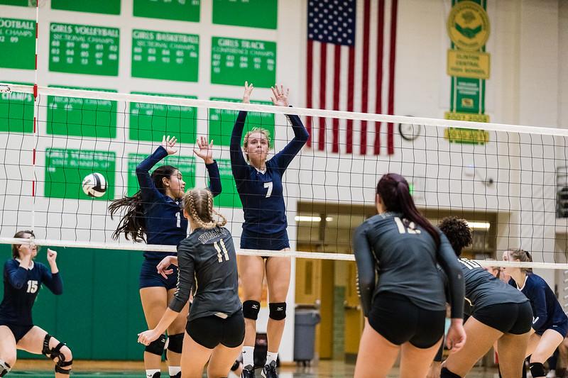 CC Varsity Volleyball vs Covington