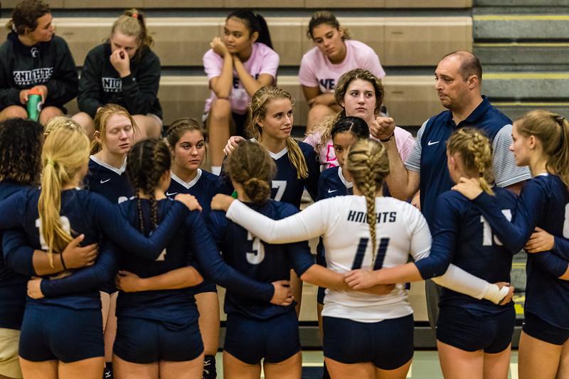 CC Varsity Volleyball vs Guerin