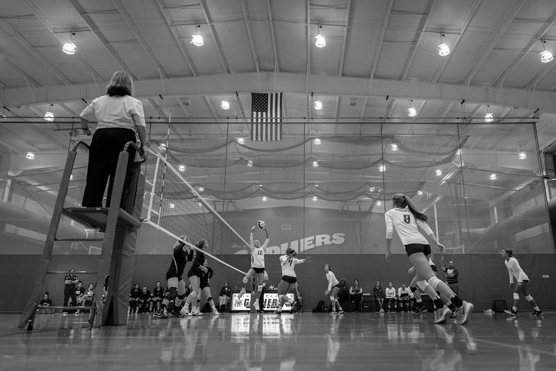 CC Volleyball vs Clinton Prairie