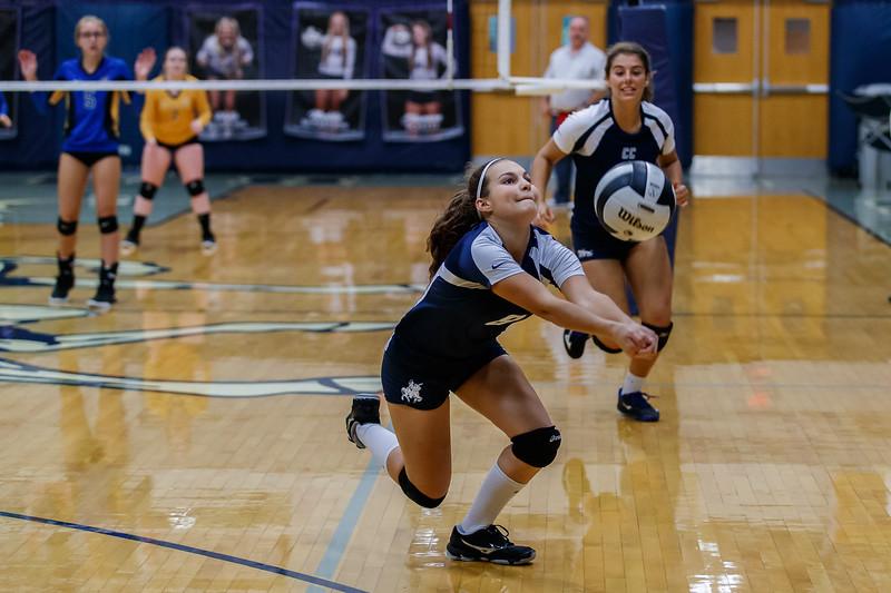 CC Volleyball vs Crawfordsville
