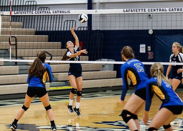 CC Volleyball vs Crawfordsville