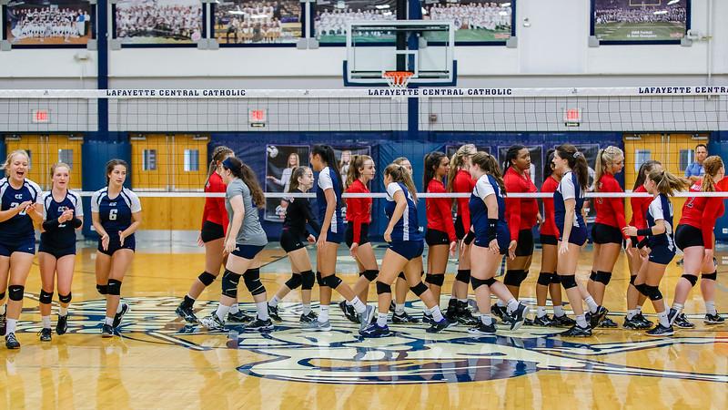 CC Varsity Volleyball vs Logansport