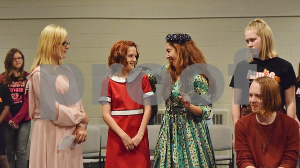 "Eighty-six children, ages 7 to 18, will perform in Children's Community Theatre's production of ""Annie Jr."" The opens this weekend at the Egyptian Theatre in DeKalb. To purchase tickets, visit  <a href=""http://www.egyptiantheatre.org"">http://www.egyptiantheatre.org</a>."