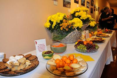 20111101 Volunteer Reception