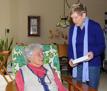 20140305 Jean Walker Volunteer of the Year
