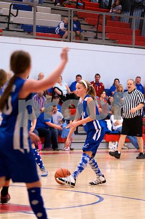 Cardinals Vrs Blue Jays 2012-13 5th Gr Girls Battle of Birds 2