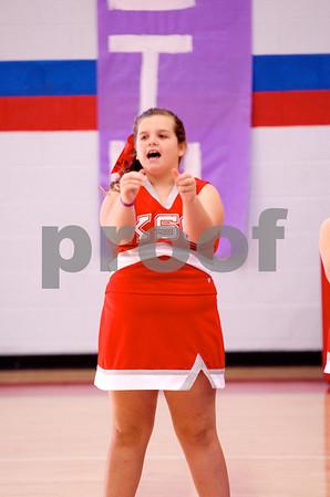 Kingston Springs Cheerleaders 2012-13