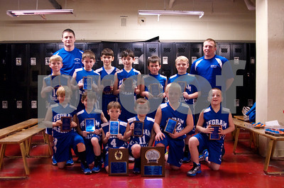 Pegram 4th Grade Boys Champs