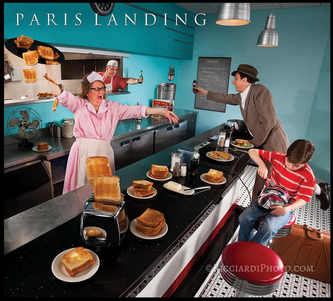 Paris Landing (Billy Davis) - TOAST!