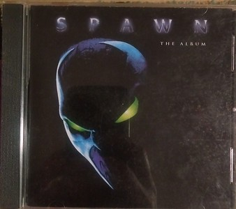 Various - Spawn The Album (Immortal Records (3), Epic, Sony Music Soundtrax, Immortal Records (3), Epic, Sony Music Soundtrax - EK 68494, CTDP 000125)