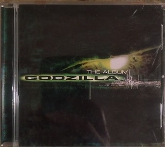 Various - Godzilla (The Album) (Epic, Sony Music Soundtrax - EK 69338)