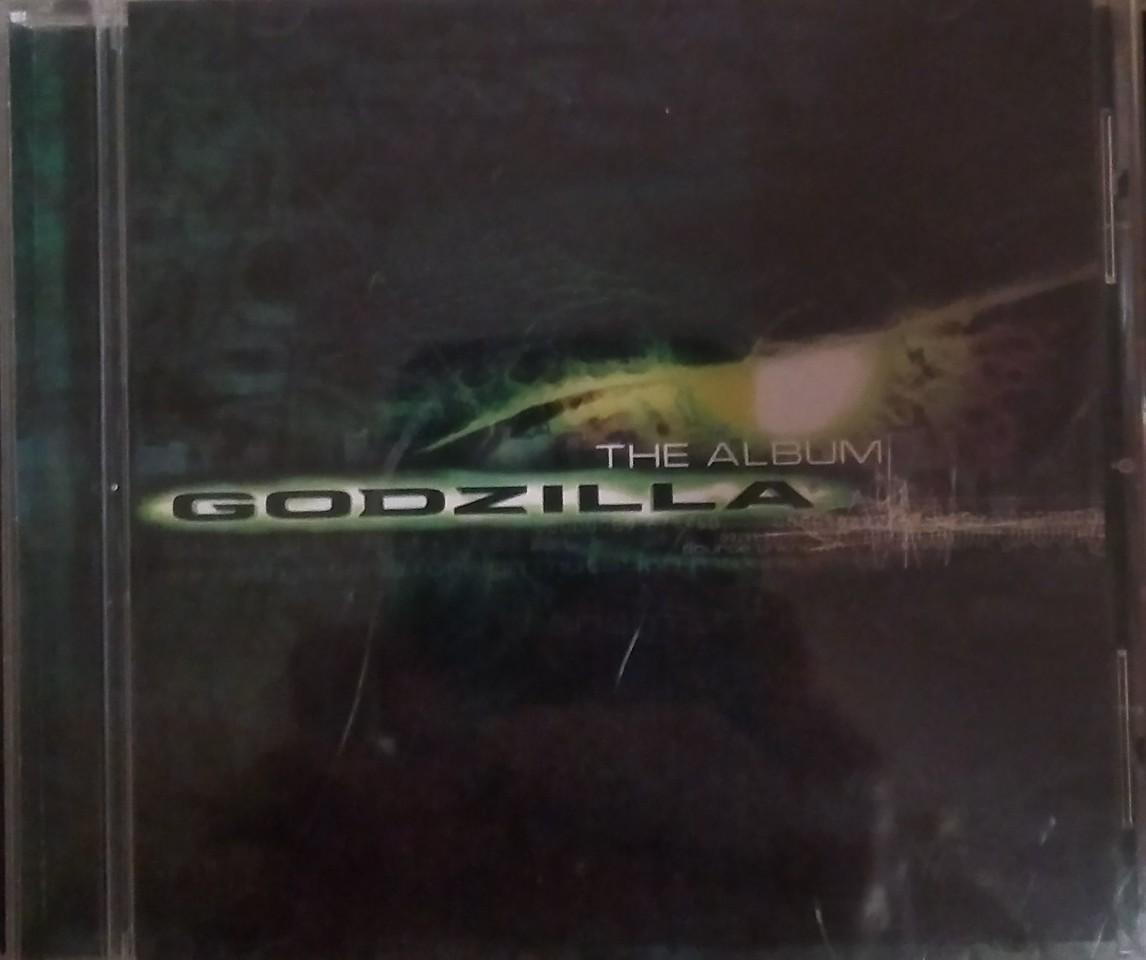 Various - Godzilla (The Album) (Epic, Sony Music Soundtrax - EK 69338)