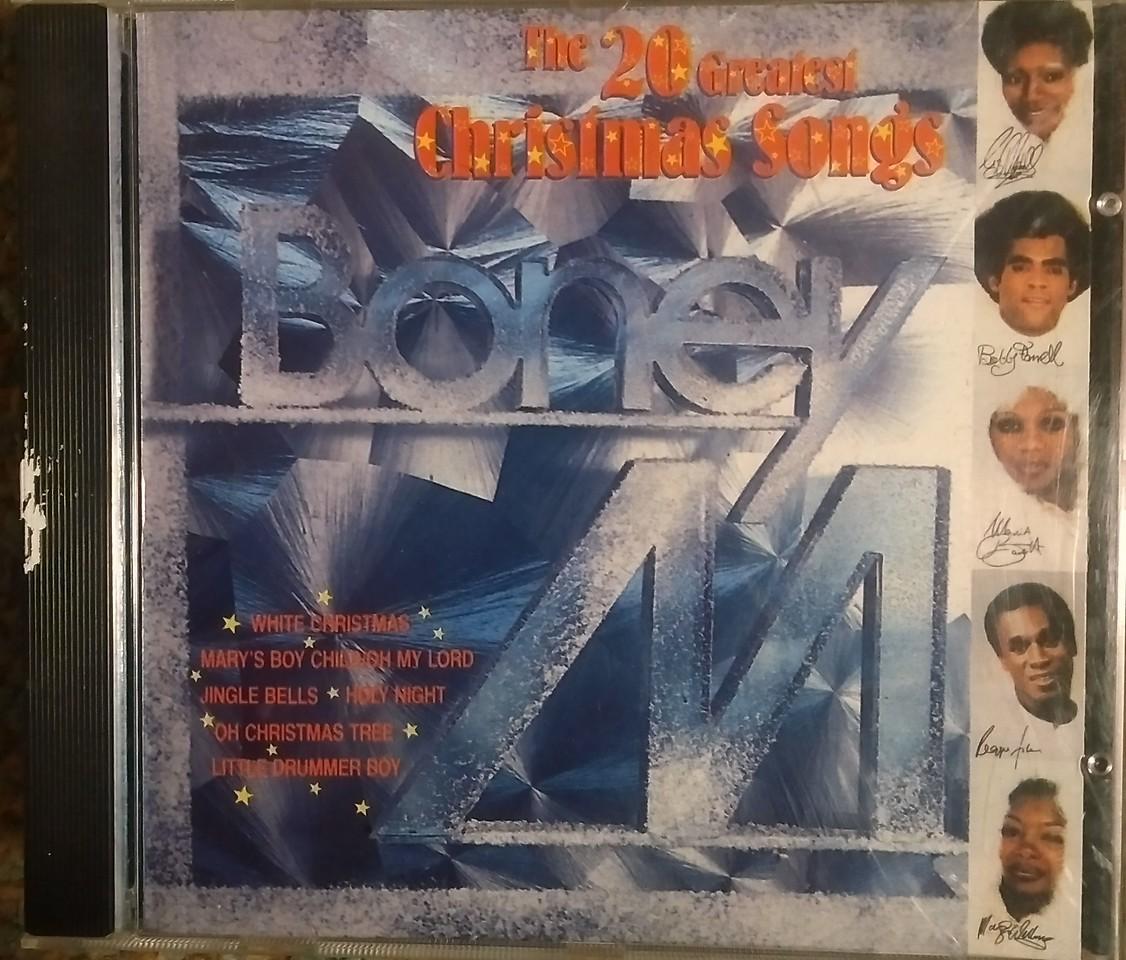 $2  Boney M - The 20 Greatest Christmas Songs
