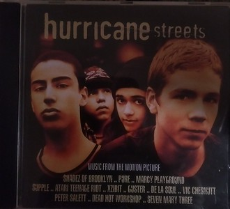 Various - Hurricane Streets (Music From The Motion Picture) (Mammoth Records - 35498 0174-2)