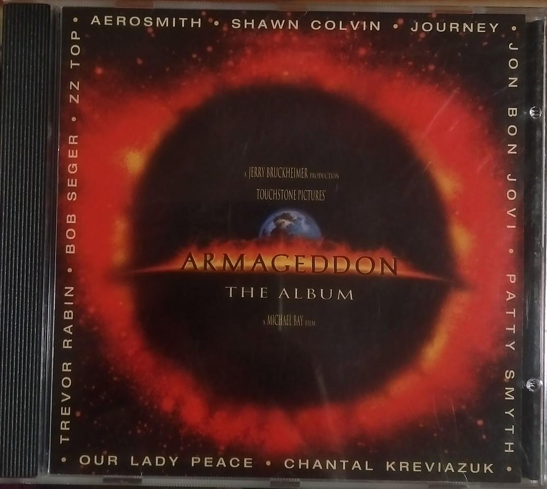 Various - Armageddon (The Album) (Columbia - CK 69440)