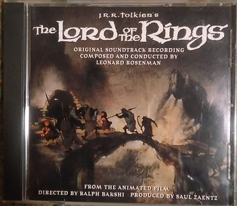 Leonard Rosenman - The Lord Of The Rings (Original Soundtrack Recording)
