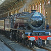 My first steam loco picture with the newly acquired Sony DSC-R1.  This super camera has an excellent  Zeiss lens and was my first serious foray into the digital age.  6201 simmers quietly in Preston station awaiting the arrival of her train which she will work forward to Carlisle via Blackburn and the S and C. 28th July 2007.