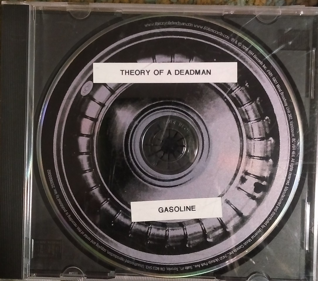 $2  Theory of a Deadman - Gasoline