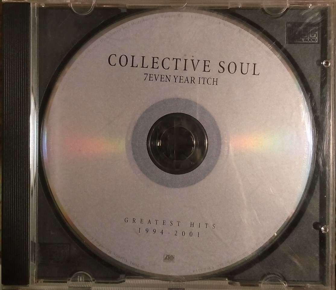 $2  Collective Soul - 7 Year Itch