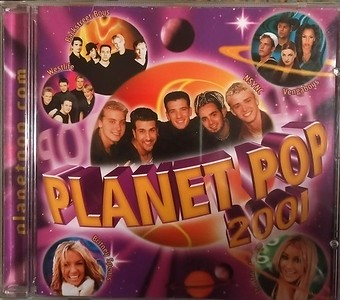 Planet Pop 2001 Front Cover
