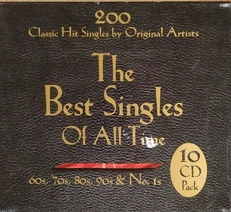 $40  The Best Singles of All Time Front Cover (10 CD Pack)