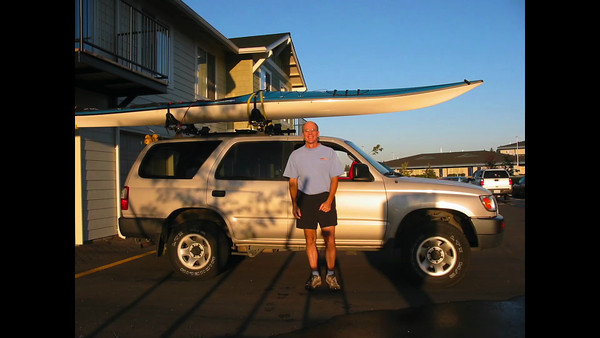 Kayaking Priest Lake and CDA, Idaho 2003
