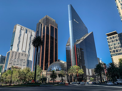Buildings of Avenida Paseo de la Reforma