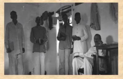 Kalemama with Meher Baba Panchgani 1935, Kalemama on baba's left