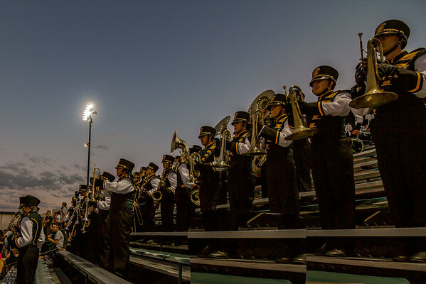 CDO vs. Nogales 8-28-2014 Band Photos