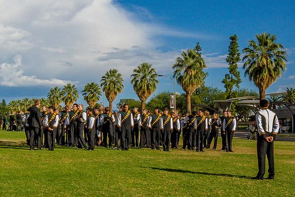 CDO Marching Dorados U of A Band Day 10 17 15