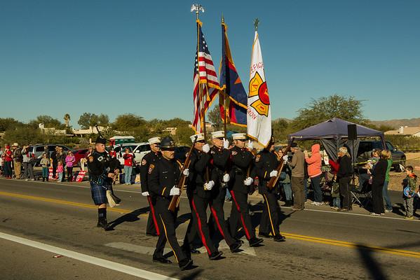 Oro Valley Holiday Parade 2013