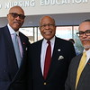 Dr. Davidson, Board Chair of Morehouse College, Dr. Sullivan and Dr. Carlisle