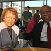 Mr. and Mrs. Louis Sullivan just before his booksigning