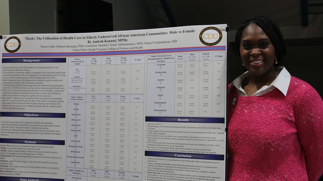 Urban Public Health     Program Class of 2015 Culminating Experience