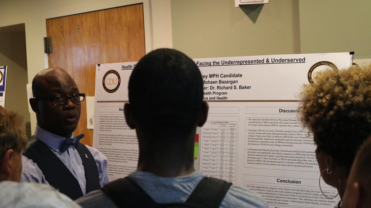 BAkari Garvey Urban presents post at thePublic Health    Program Class of 2015 Culminating Experience