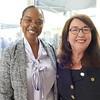 Nurse Mona Clayton and Dean Breckenridge