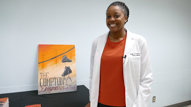 Author Natalie Hauser, The Compton Diagnosis