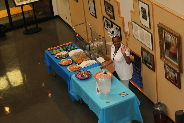 October Birthday party, Fall Harvest Party (Hallowe'en) and Staff Member of the Month Celebration