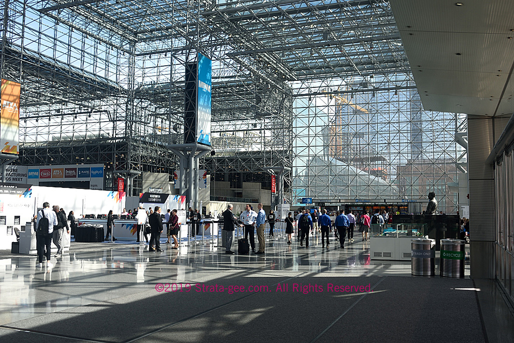 Another view of the main foyer to the Javits Center where CE Week is held