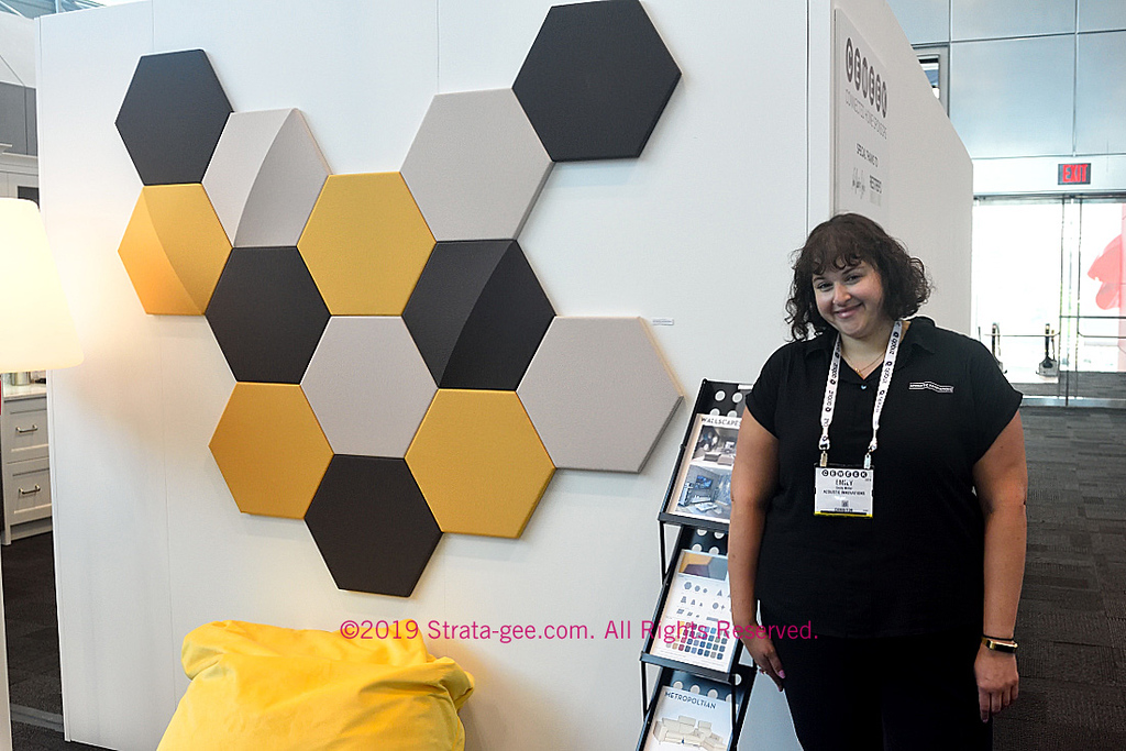 Accoustics Innovations Wallscape panels at CE Week