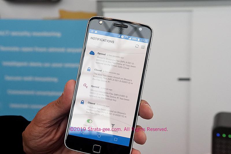 Motorola Smart Safe app