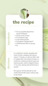 COMPLETE Collagen Matcha Recipe