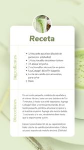 SPANISH Collagen Matcha Recipe