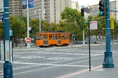 A Tram (1)  A very old tram, and it's still in full use.