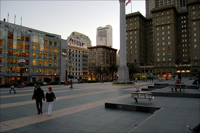 Union Square (1)  Everything happens in and around Union Square.