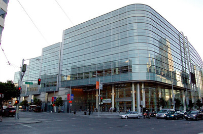 Moscone Centre  CEC 2006 was held at the Moscone Centre in San Francisco.  Conveniently, it was only 2 blocks from my hotel.