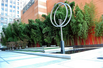 """City Garden  A tranquil little """"City Garden"""" I wandered past."""