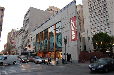 The Levi's Store  This is the Levi's Store on Union Square.